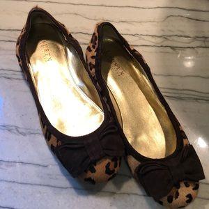 Ralph Lauren leopard flats